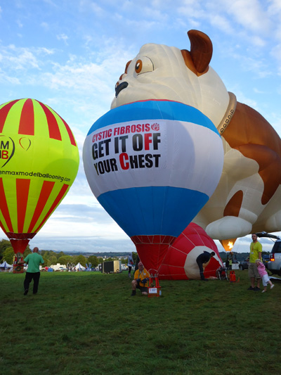 Cystic Fibrosis Hot Air Balloon